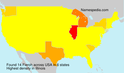 Surname Fieroh in USA