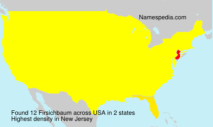 Surname Firsichbaum in USA