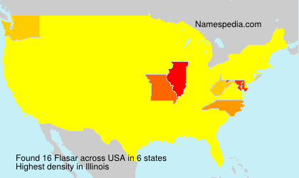 Surname Flasar in USA