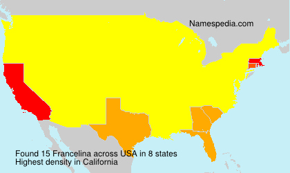 Surname Francelina in USA