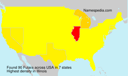 Surname Fulara in USA