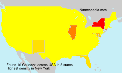 Surname Galleazzi in USA