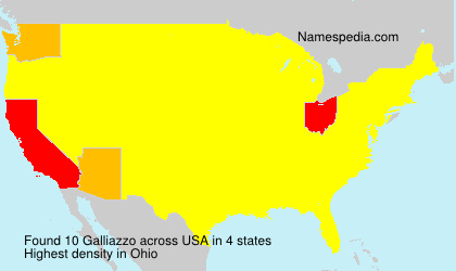 Surname Galliazzo in USA
