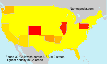 Surname Gallowich in USA