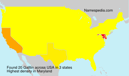Surname Galltin in USA