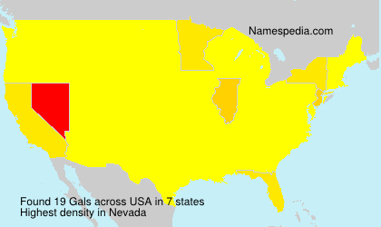 Surname Gals in USA