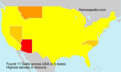 Surname Galts in USA