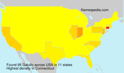 Surname Galullo in USA