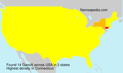 Surname Ganolli in USA