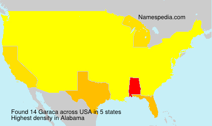 Surname Garaca in USA