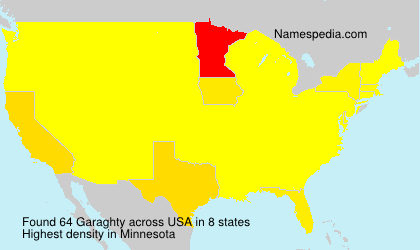 Surname Garaghty in USA