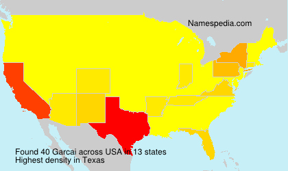 Surname Garcai in USA