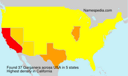 Surname Garganera in USA