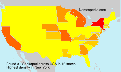 Surname Garikapati in USA