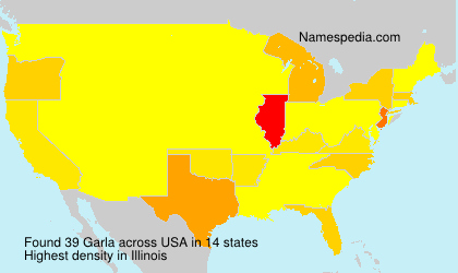Surname Garla in USA