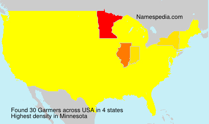 Surname Garmers in USA