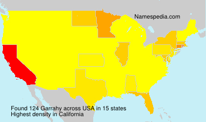 Surname Garrahy in USA