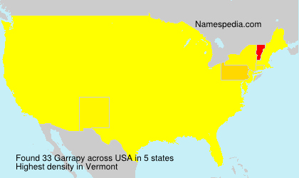 Surname Garrapy in USA