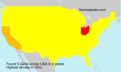 Surname Gelal in USA