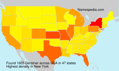 Surname Gerstner in USA