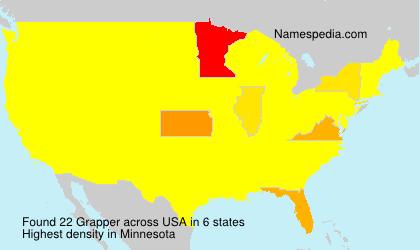 Surname Grapper in USA