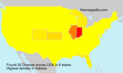 Surname Graveel in USA