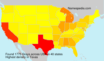Surname Grays in USA