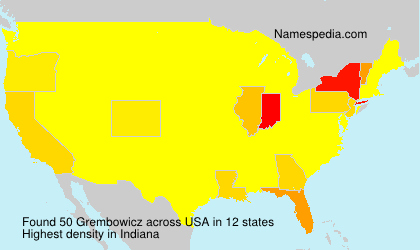 Surname Grembowicz in USA