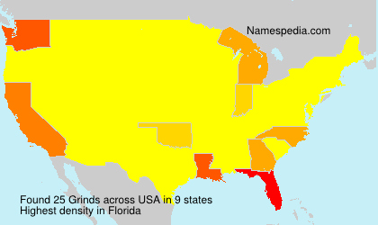 Surname Grinds in USA