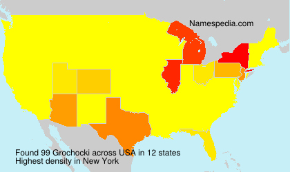 Surname Grochocki in USA