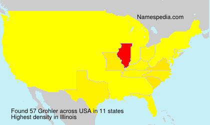 Surname Grohler in USA