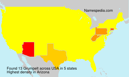 Surname Grumpelt in USA