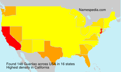 Surname Guanlao in USA