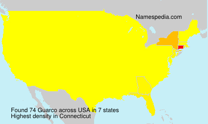 Surname Guarco in USA