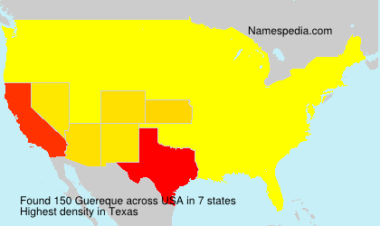 Surname Guereque in USA