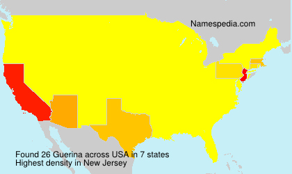 Surname Guerina in USA
