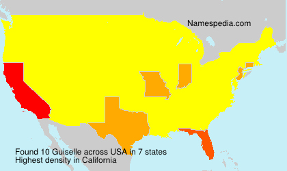 Surname Guiselle in USA