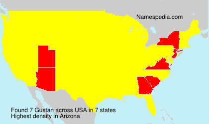 Surname Gustan in USA
