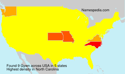 Surname Gywn in USA