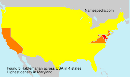 Surname Habtemarian in USA