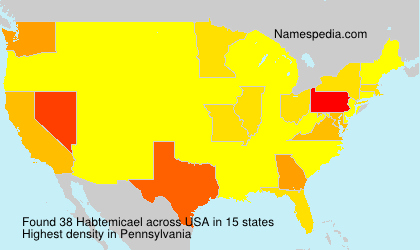 Surname Habtemicael in USA