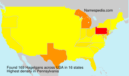 Surname Hagelgans in USA