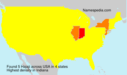 Surname Hajaji in USA