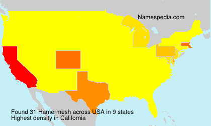 Surname Hamermesh in USA