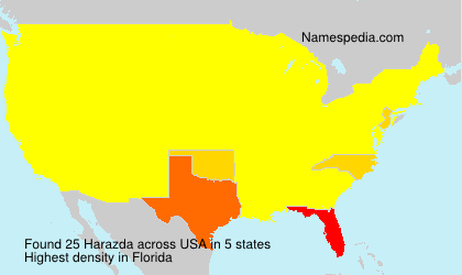 Surname Harazda in USA