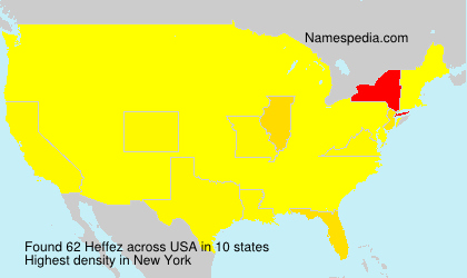 Surname Heffez in USA