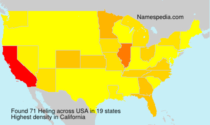 Surname Heling in USA