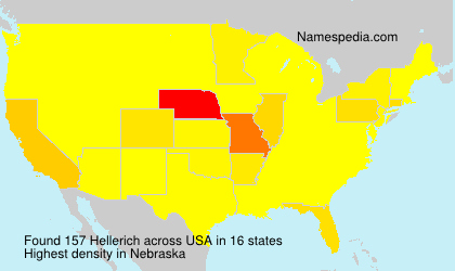 Surname Hellerich in USA