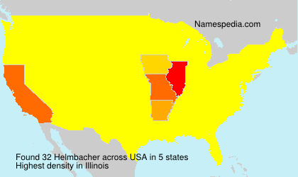 Surname Helmbacher in USA