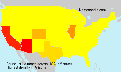 Surname Heltmach in USA